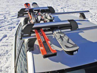 Крепление для перевозки лыж и сноубордов