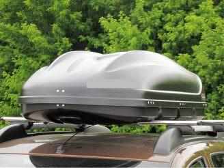 Автобокс TURINO 1 (ONE) серый матовый 410 л