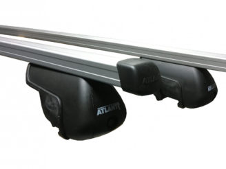 Багажник Atlant на интегрированные рейлинги прямоугольная дуга 1100 мм сечением 20х30