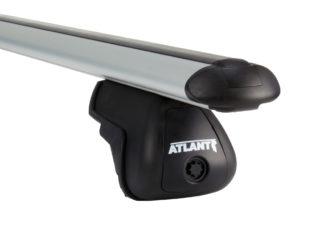 Багажник Atlant на интегрированные рейлинги дуга крыло 1100 мм