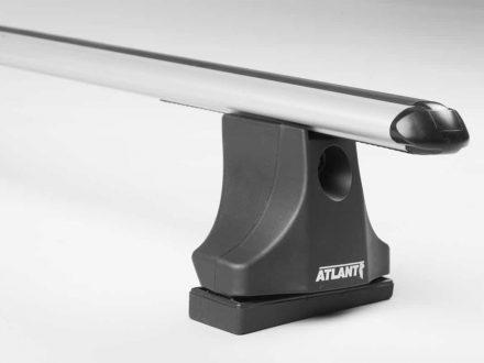 Багажная система Atlant  VW T5 с креплением в штатные места и аэро дугой длиной 1500 мм